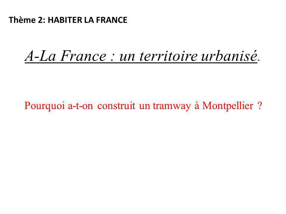 A-La France : un territoire urbanisé.
