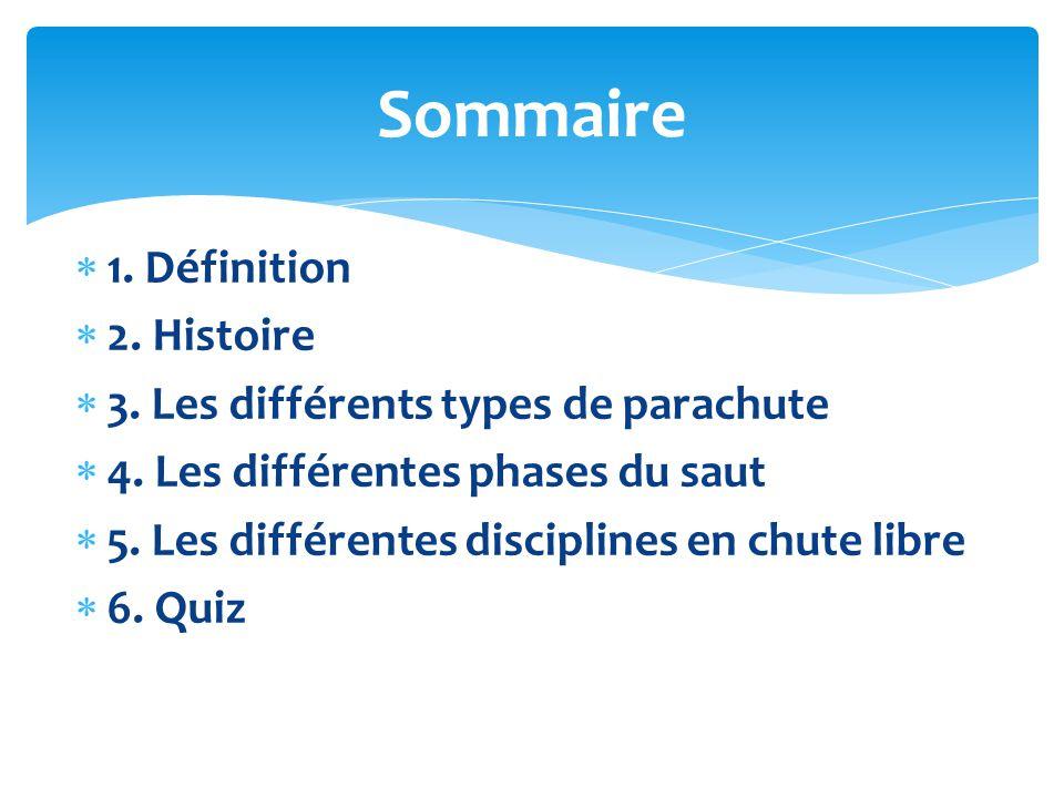 Sommaire 1. Définition 2. Histoire