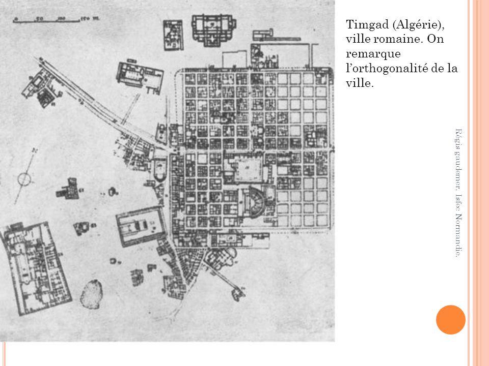 Timgad (Algérie), ville romaine