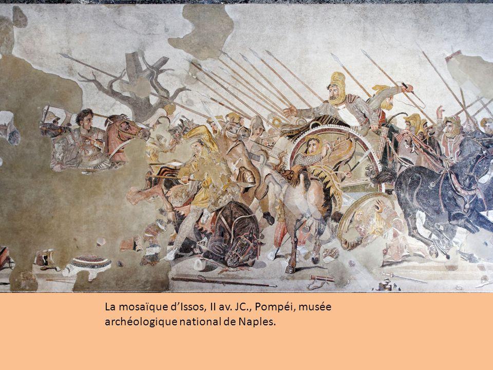 La mosaïque d'Issos, II av. JC