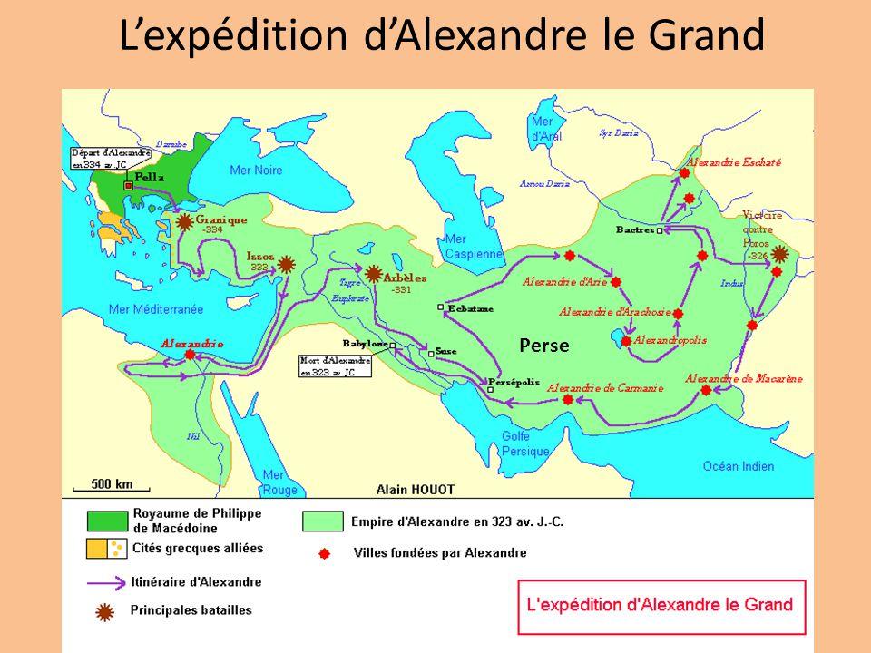 L'expédition d'Alexandre le Grand