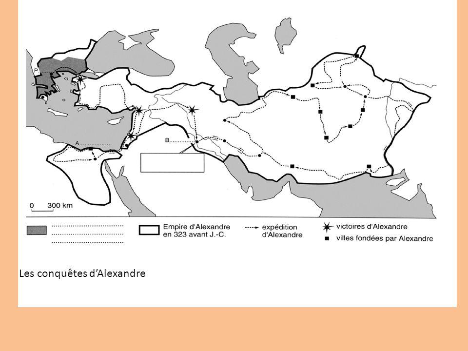 Les conquêtes d'Alexandre