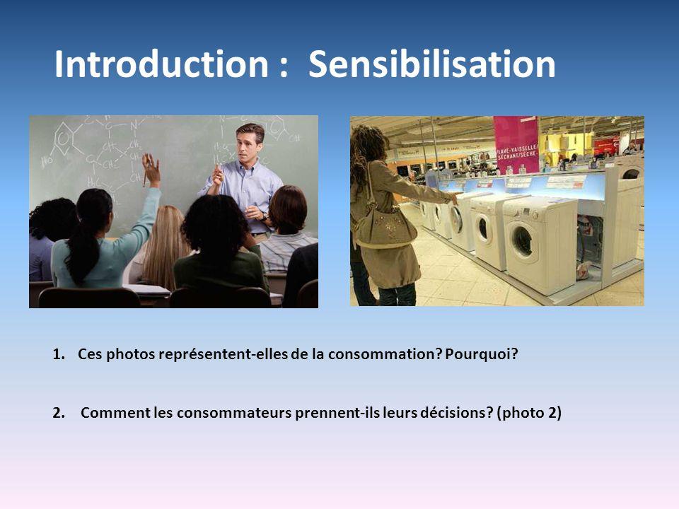 Introduction : Sensibilisation