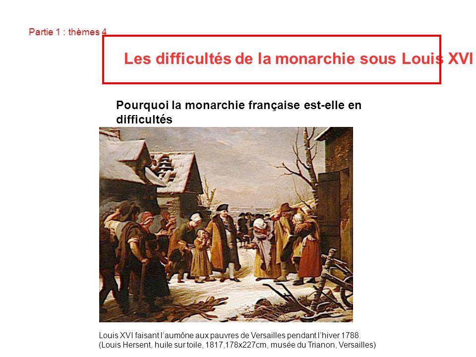 Pourquoi la monarchie française est-elle en difficultés