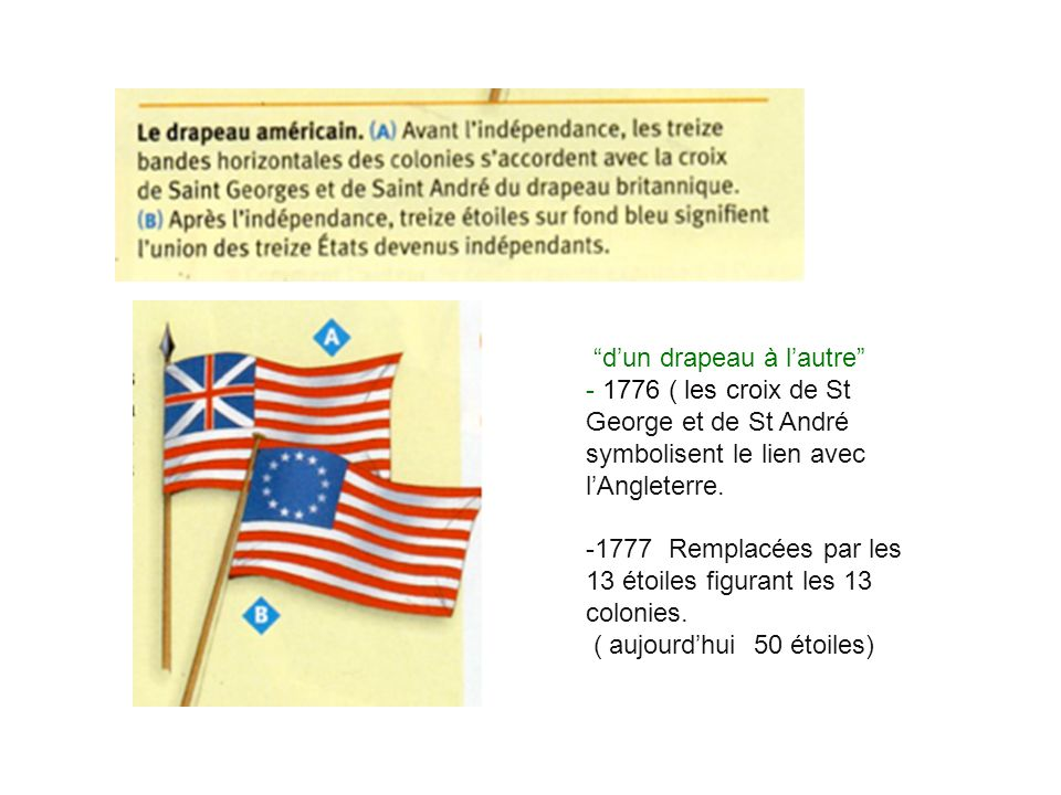 d'un drapeau à l'autre