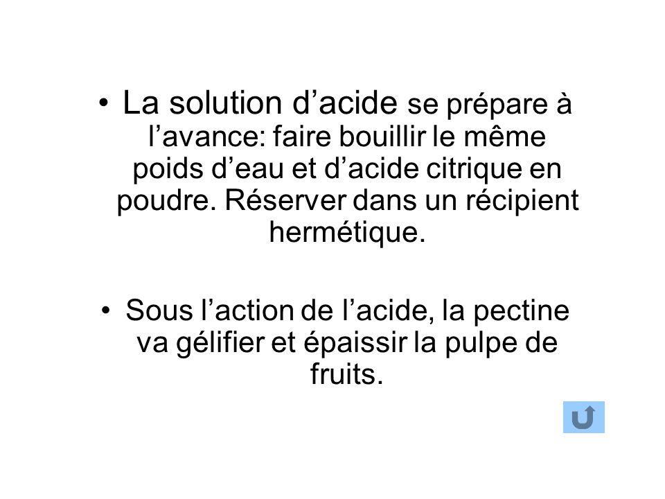 P te de fruits ppt video online t l charger - Acide citrique en poudre ...