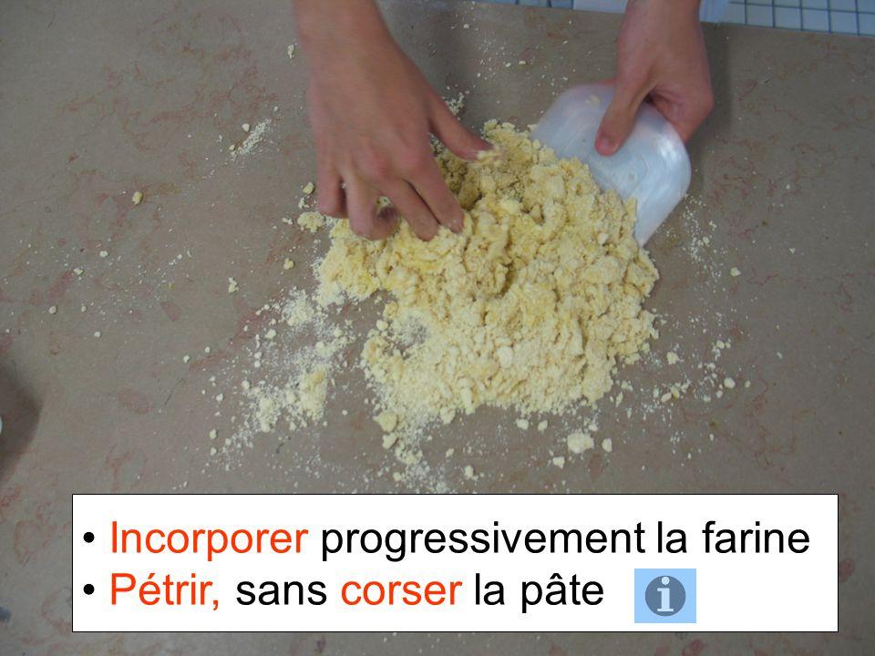 Incorporer progressivement la farine