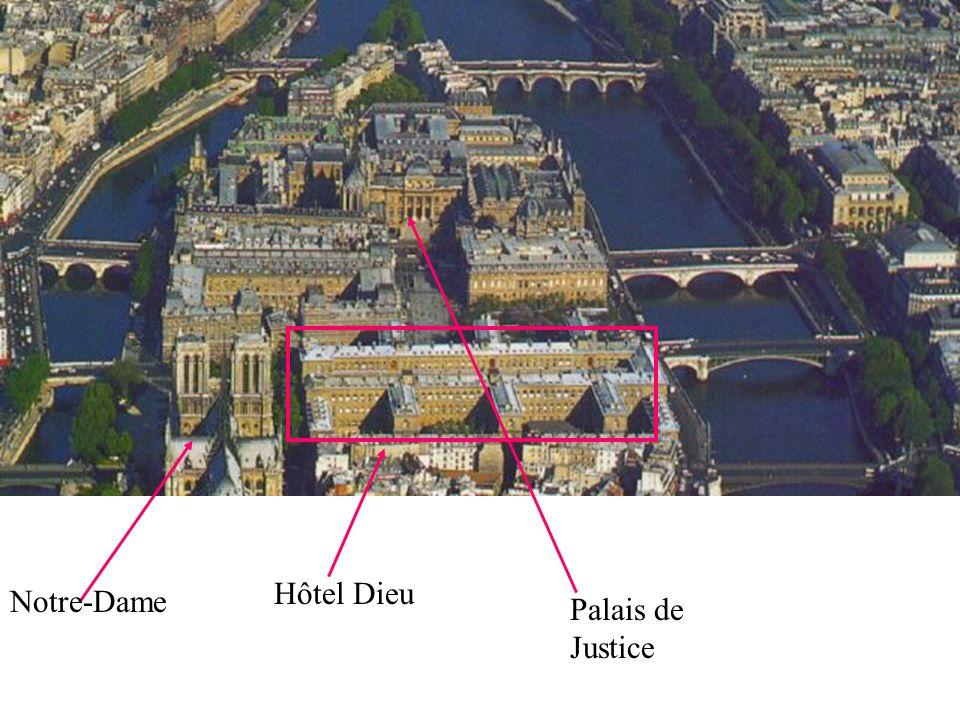 Hôtel Dieu Notre-Dame Palais de Justice