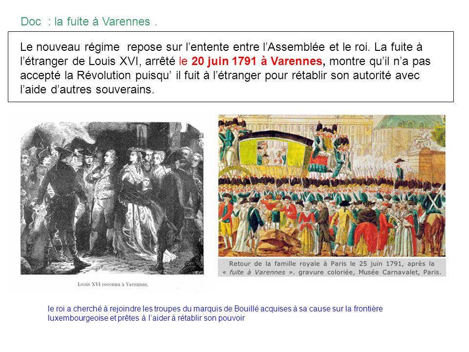 Doc : la fuite à Varennes .