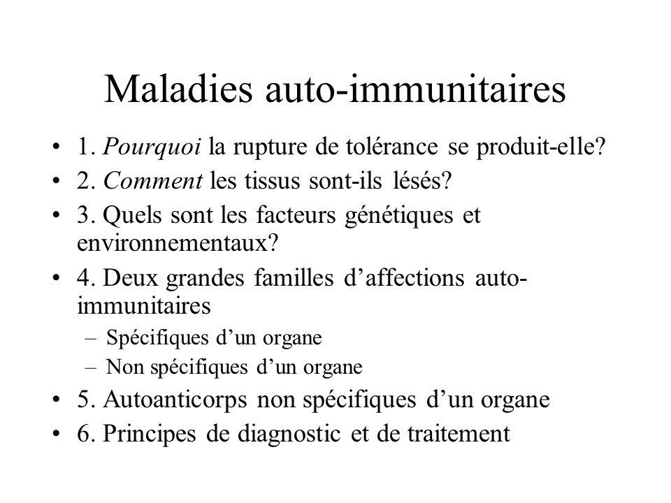 Maladies auto-immunitaires