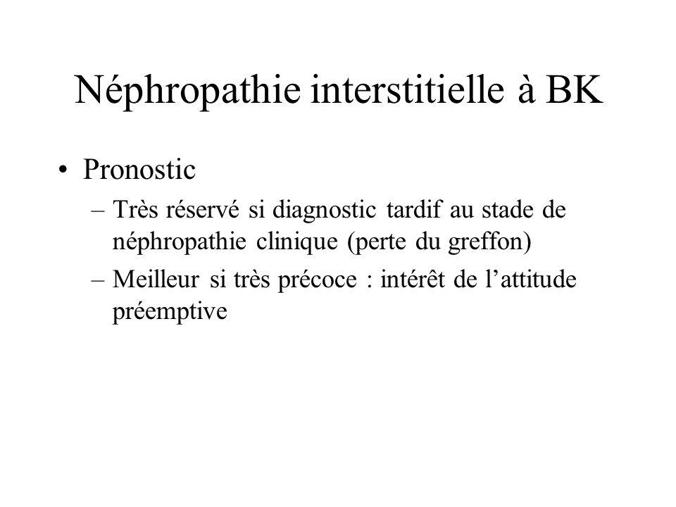 Néphropathie interstitielle à BK