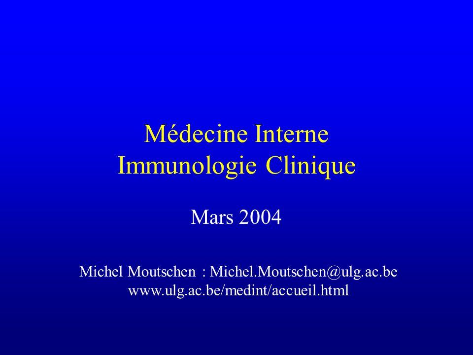 Médecine Interne Immunologie Clinique