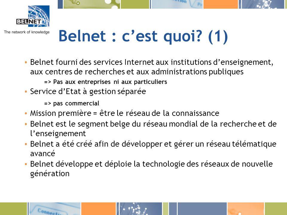 Belnet : c'est quoi (1)