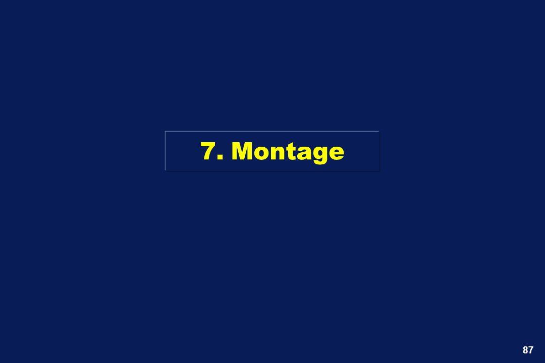 7. Montage