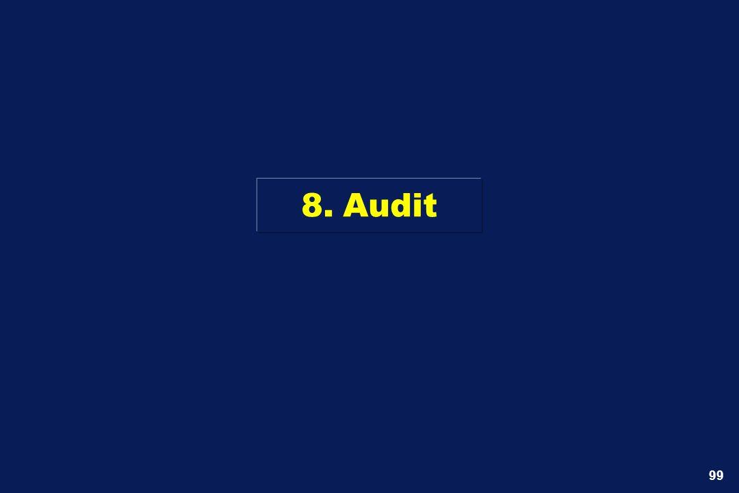 8. Audit