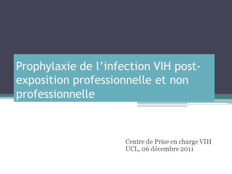 Centre de Prise en charge VIH UCL, 06 décembre 2011