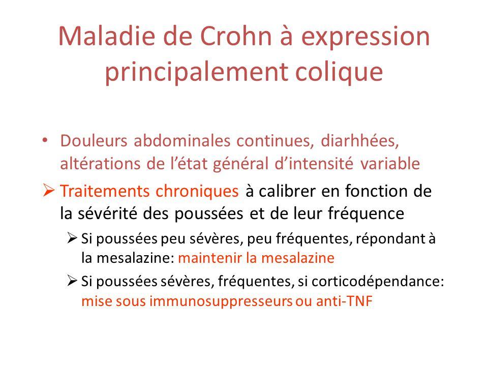 Maladie de Crohn à expression principalement colique