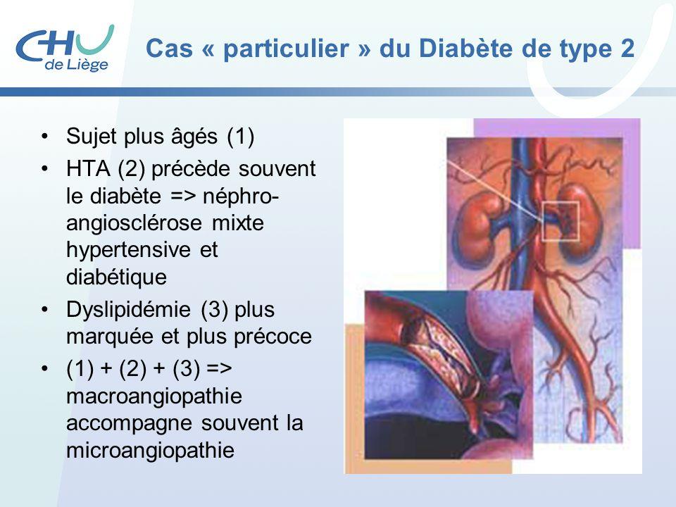 Cas « particulier » du Diabète de type 2