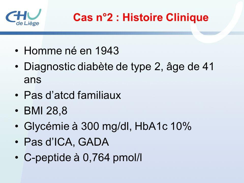 Cas n°2 : Histoire Clinique