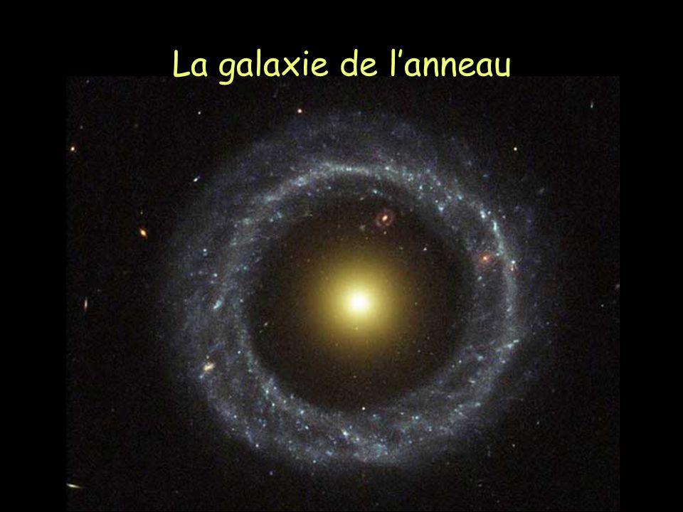 La galaxie de l'anneau
