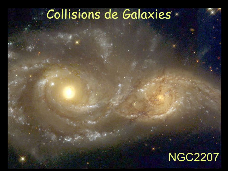 Collisions de Galaxies