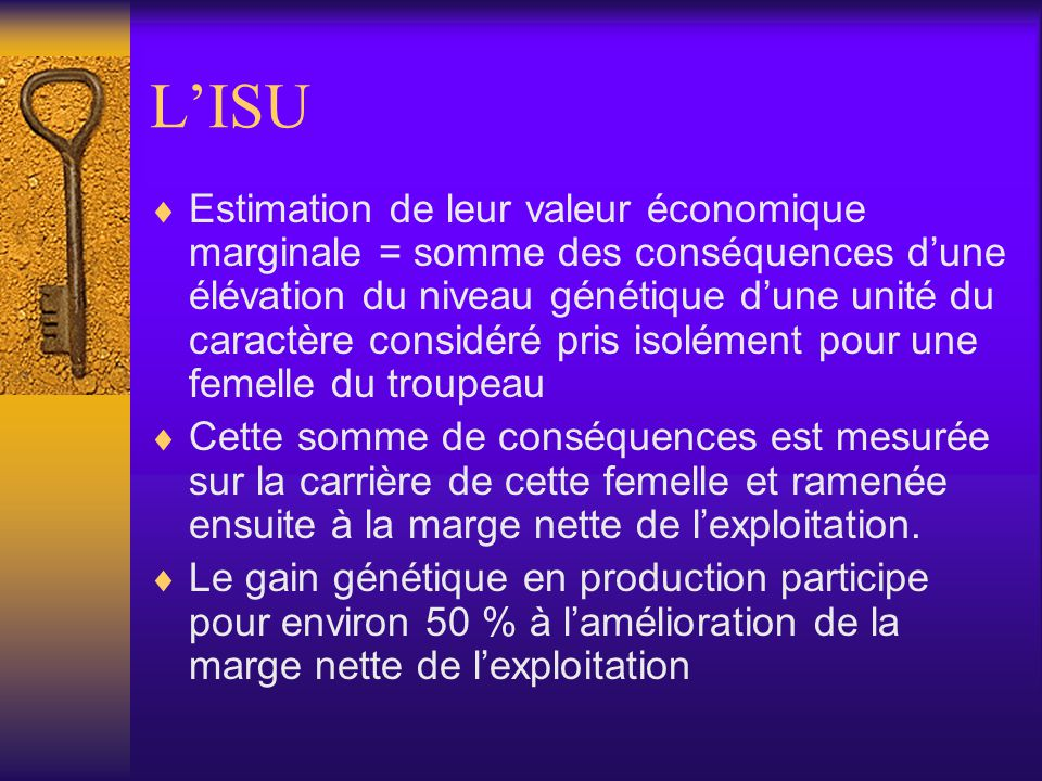 L'ISU