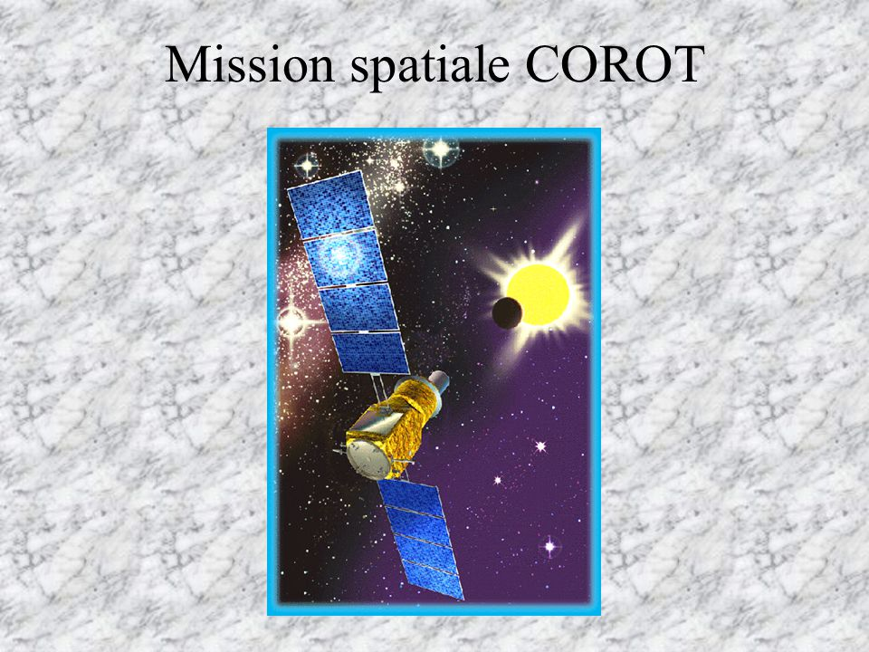 Mission spatiale COROT