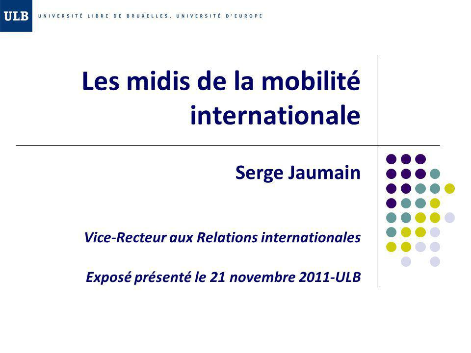les midis de la mobilit u00e9 internationale