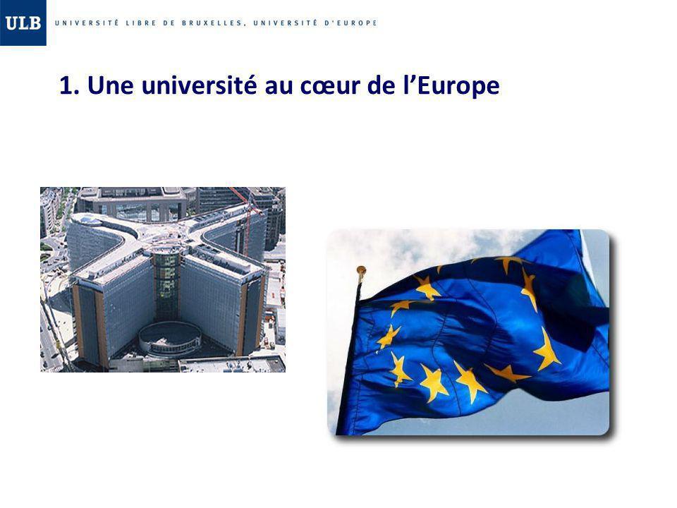 1. Une université au cœur de l'Europe