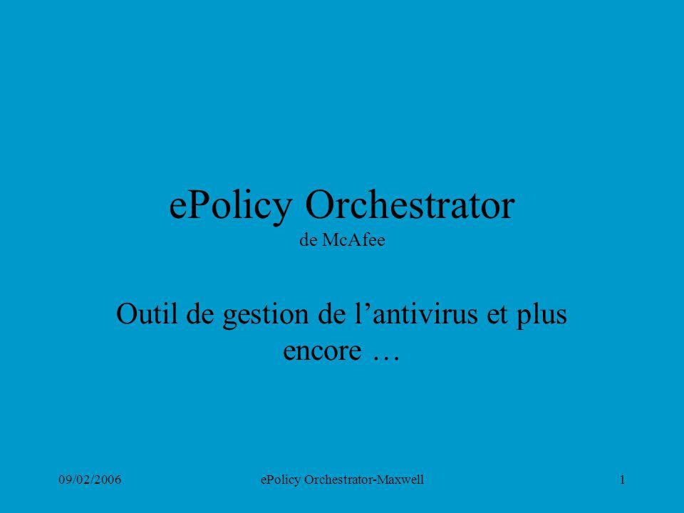 ePolicy Orchestrator de McAfee