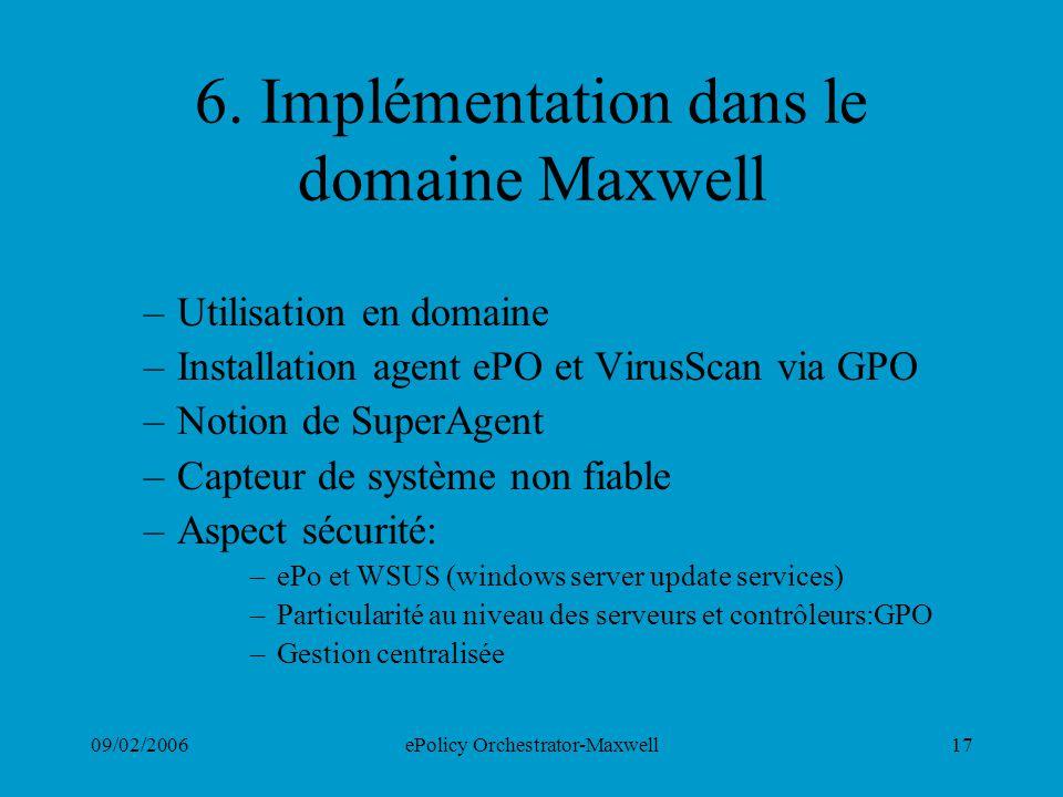 6. Implémentation dans le domaine Maxwell