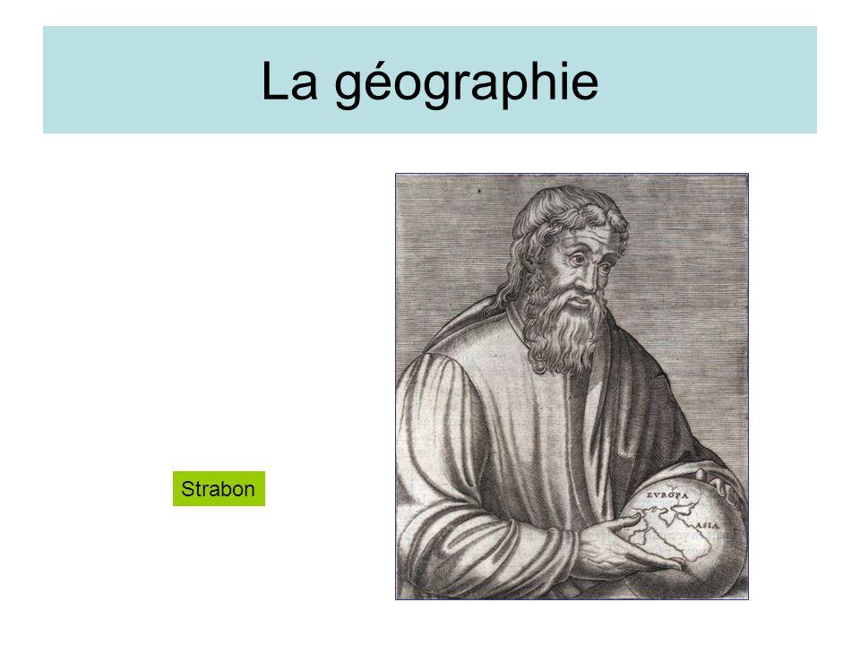 La géographie Strabon