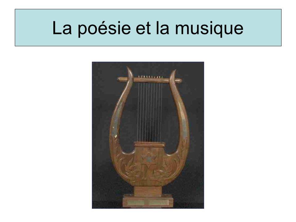 La poésie et la musique