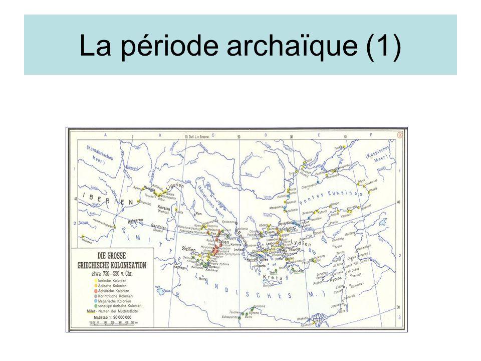 La période archaïque (1)