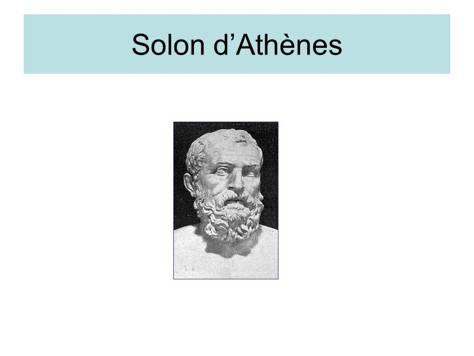 Solon d'Athènes
