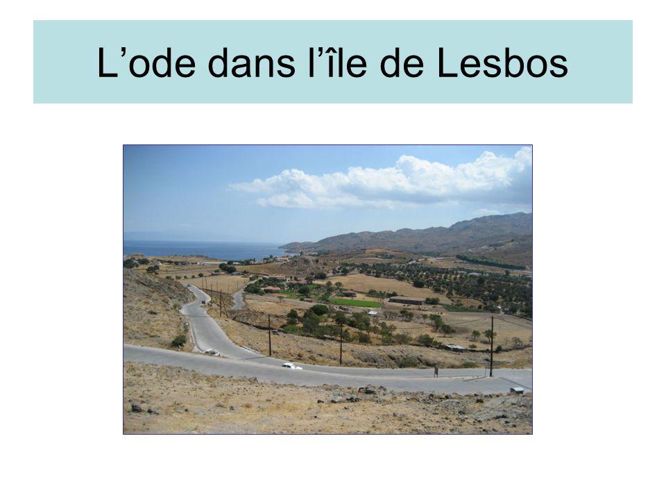 L'ode dans l'île de Lesbos