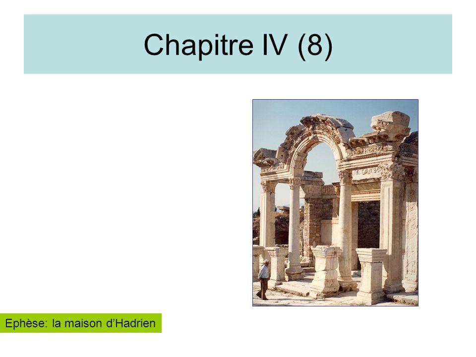 Chapitre IV (8) Ephèse: la maison d'Hadrien