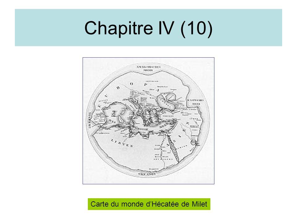Chapitre IV (10) Carte du monde d'Hécatée de Milet