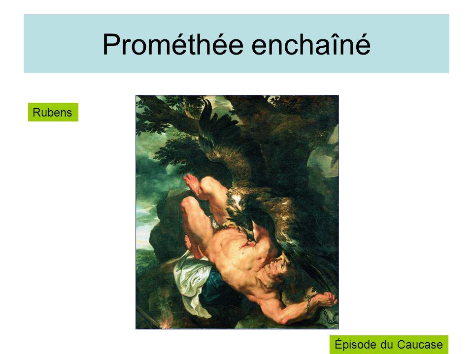 Prométhée enchaîné Rubens Épisode du Caucase
