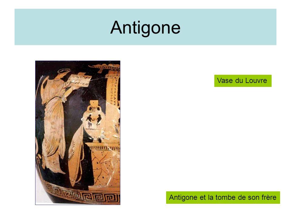 Antigone Vase du Louvre Antigone et la tombe de son frère