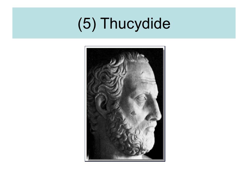(5) Thucydide