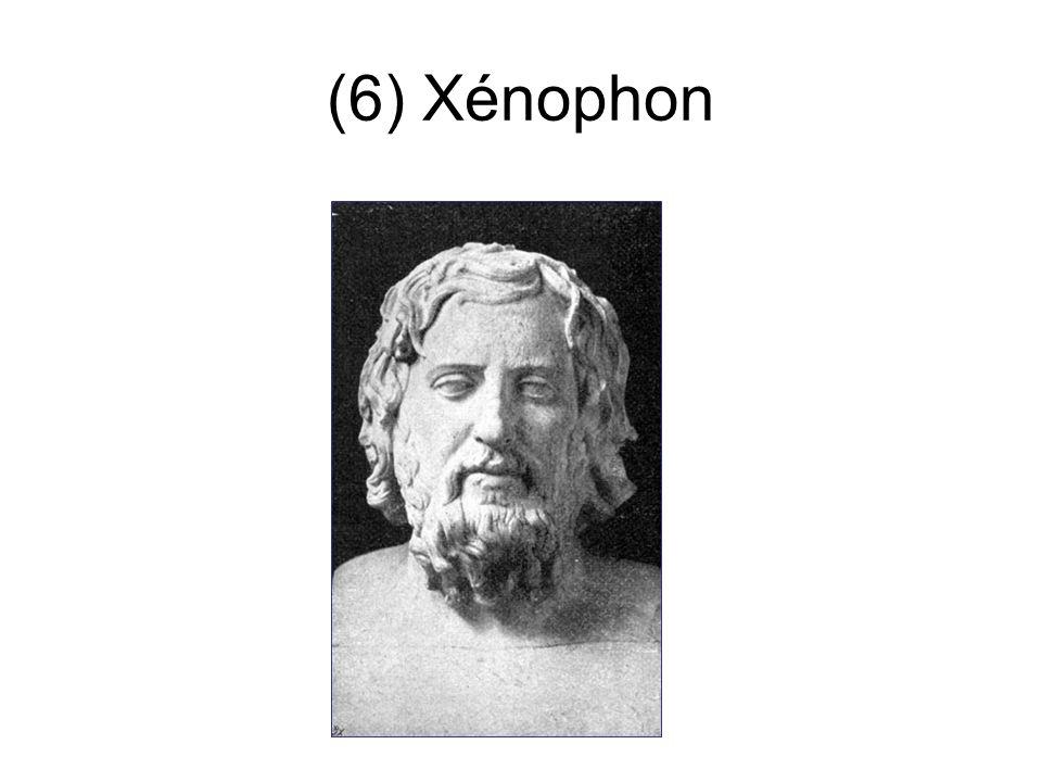 (6) Xénophon