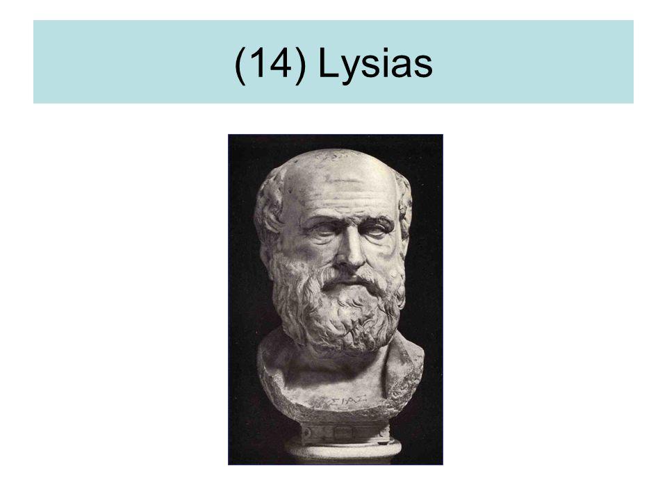 (14) Lysias