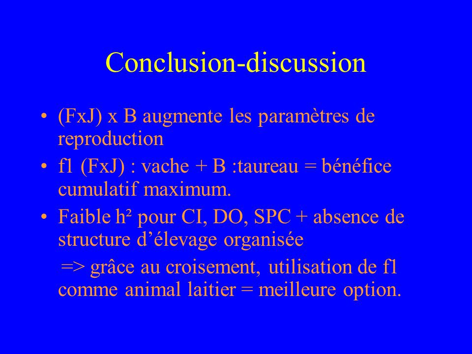 Conclusion-discussion