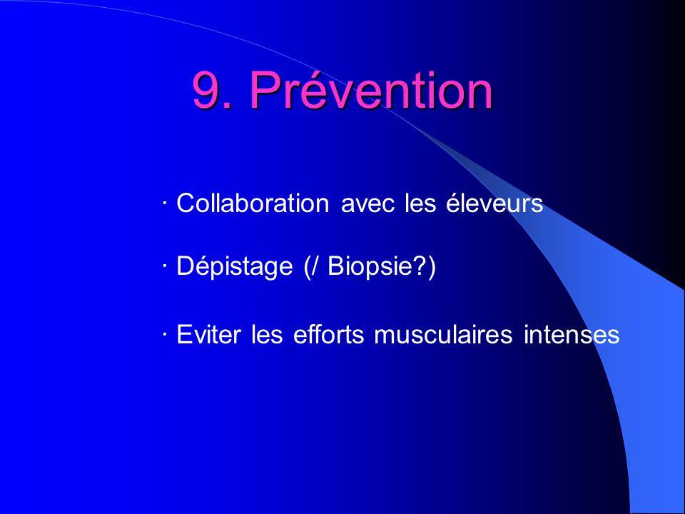 9. Prévention · Collaboration avec les éleveurs