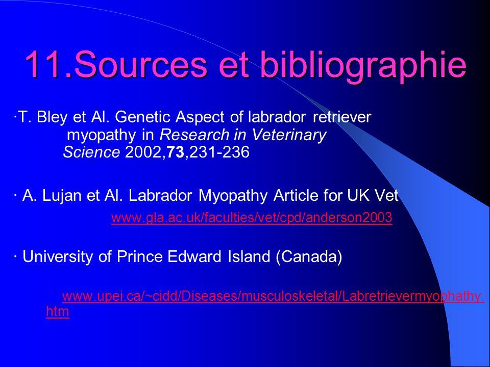 11.Sources et bibliographie