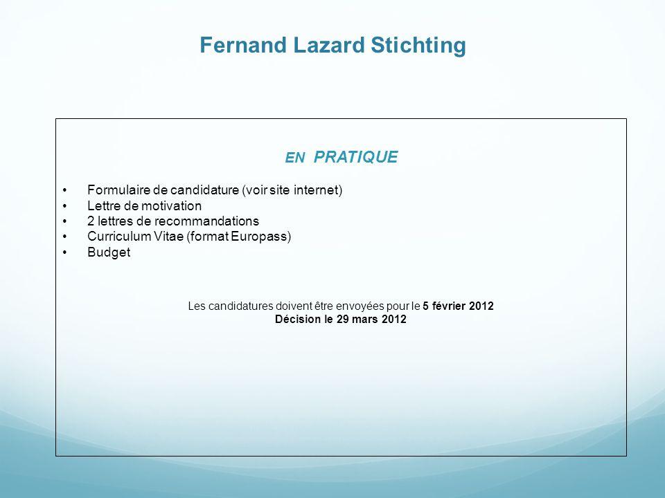 Fernand Lazard Stichting