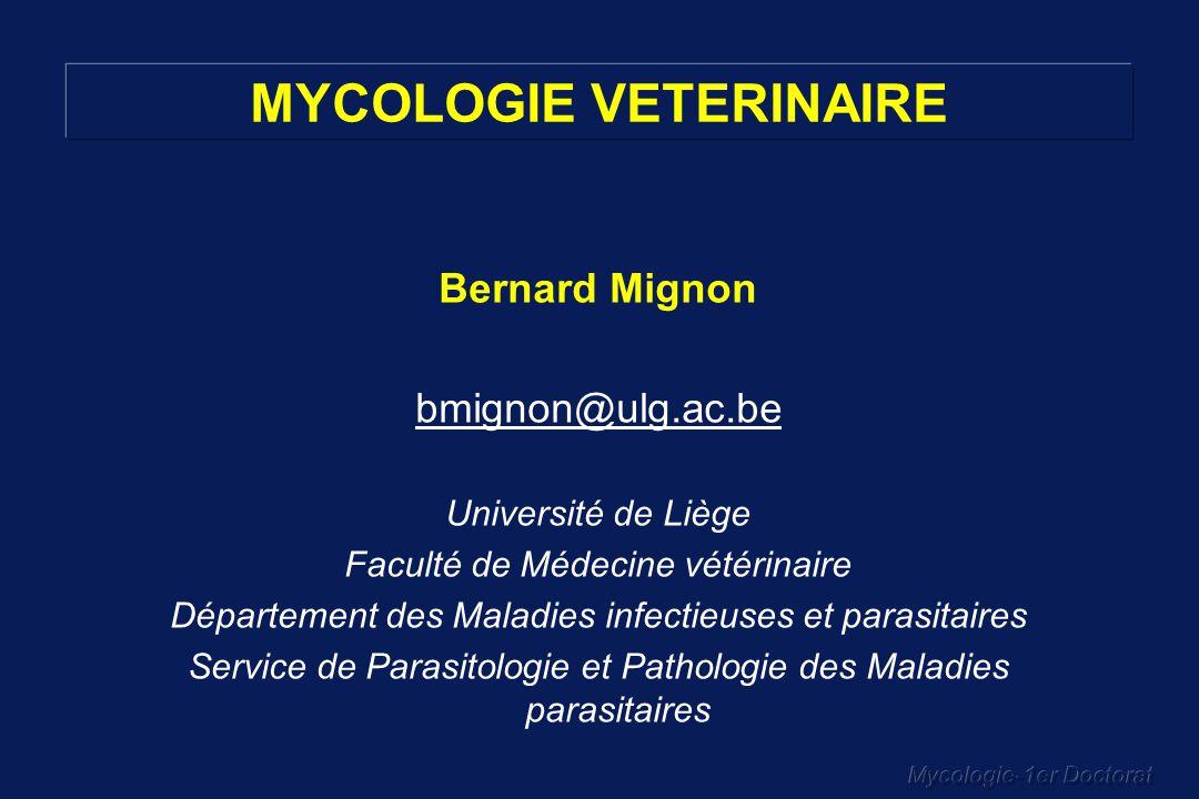 MYCOLOGIE VETERINAIRE