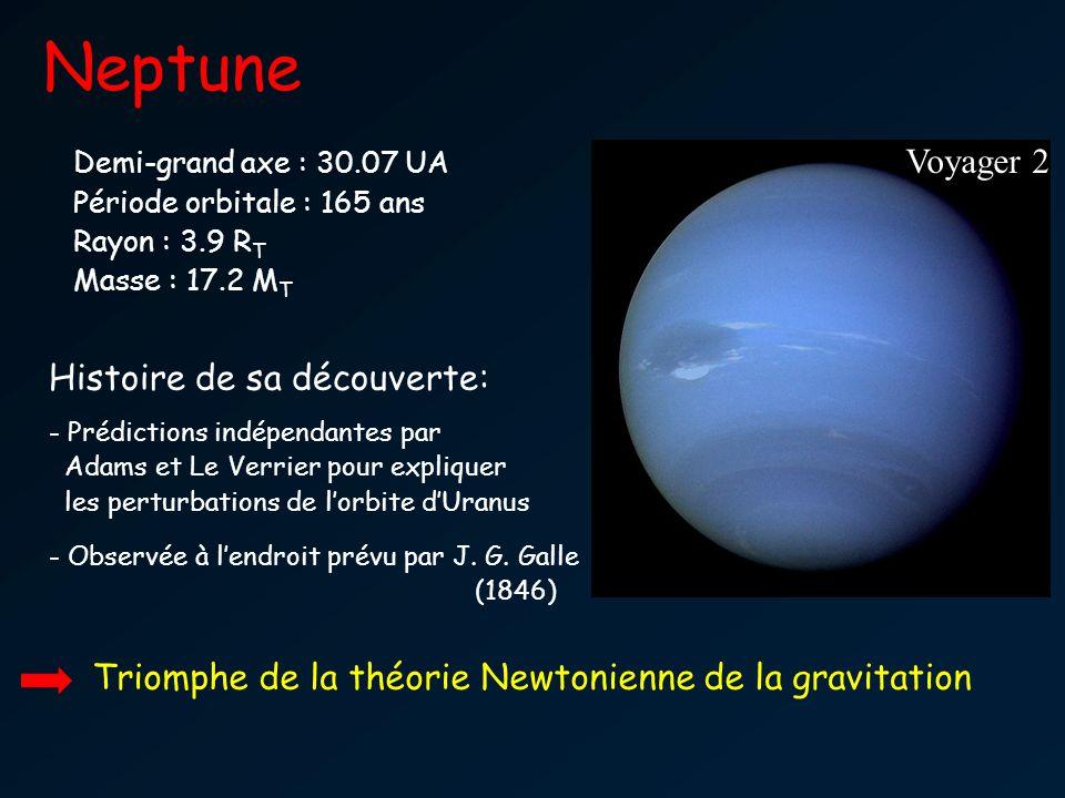 Neptune Voyager 2 Histoire de sa découverte: