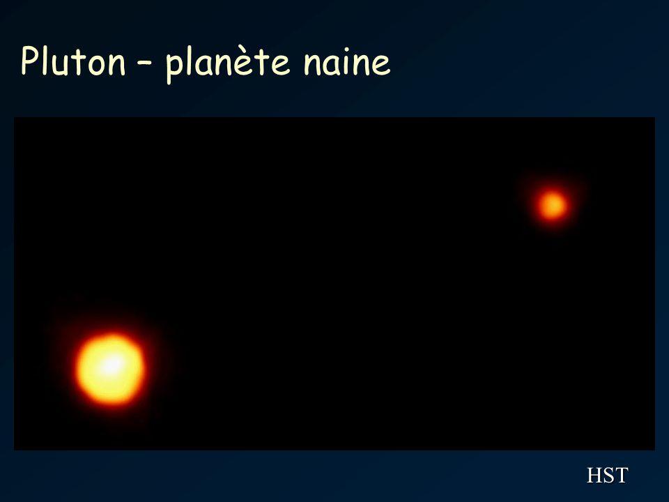 Pluton – planète naine HST